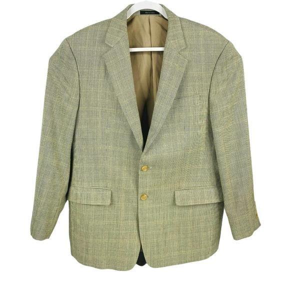 Lauren Ralph Lauren Wool Blazer Dress Coat Mens 46